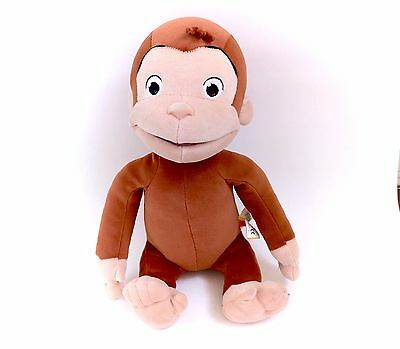 "2005 Curious George Movie Laughing 13"" Plush Toy Monkey Stuffed Licensed Marvel"