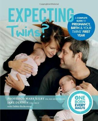 Expecting Twins? (One Born Every Minute) by Jane Denton Book The Cheap Fast Free
