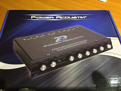 Power Acoustik PWM-16 Pre-amp Equalizer Subwoofer Weiche