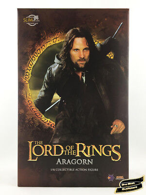 1/6 Aragorn Lord of the Rings Figure USA Asmus Frodo Hobbit Pippin Toys Hot LOTR