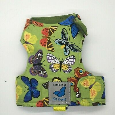 Butterfly Cat Jackets - Cat Walking Harness Jacket Bees/Insect/Animal Fabrics