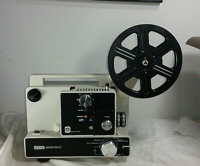 Eumig Mark 610D 8MM Film Movie Motion Picture Projector Austria