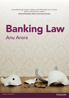 Banking Law by A. Arora 9781408297841 (Paperback, 2014)