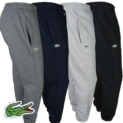 0c9318ed6 Mens LACOSTE SPORT Fleece SWEATPANTS Pants BLACK CHARCOAL NAVY BLUE LT. GRAY