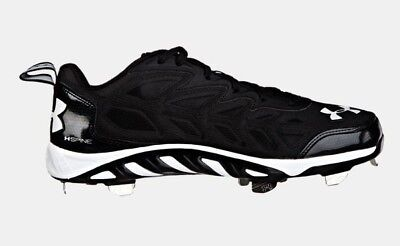 Brand New Under Armour Spine Metal Cleats Black 1240624001
