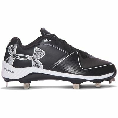 Brand New Under Armour Women's Glyde Cleats Black 1278759001