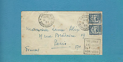 Cambodia Cover -  1931 Angkor, Cambodge to Paris (Angkor Monuments)