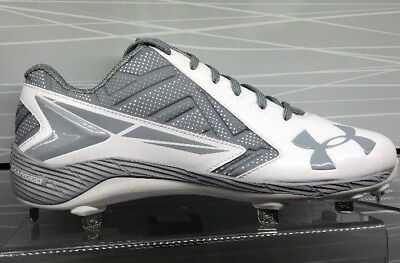 Brand New Under Armour Yard Low St Cleats White 1264167102