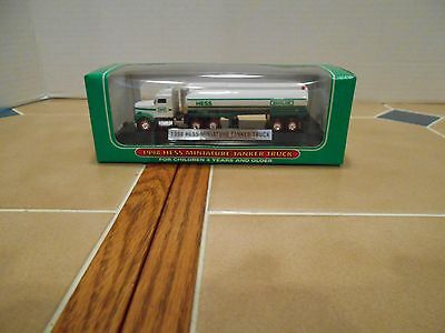 Hess 1998 miniature Hess Tanker #1 in the series MIB