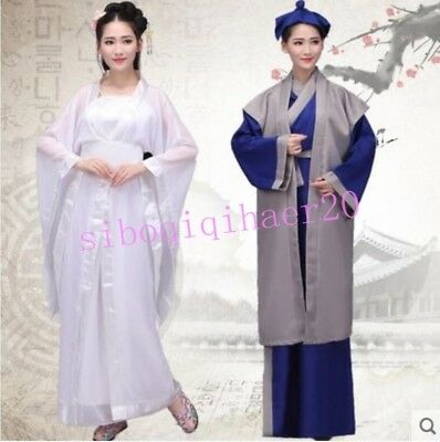 The Legend Of White Snake Performance Dress Stage Hanfu Costume Ancient Clothing