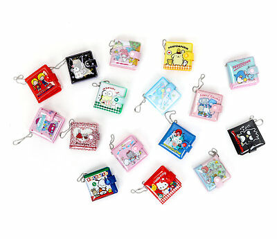 Sanrio Chracters Mini Mirror Coin Wallet Keychain: Assorted Bland Random Draw