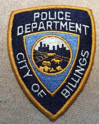 MT City of Billings Montana Police Patch