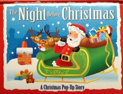 The night Before Christmas (A Christmas Pop-Up Story) by anon` Book The Cheap