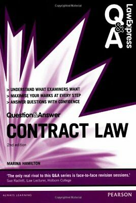 Law Express Question and Answer: Contract Law (Law Exp... by Hamilton, Ms Marina
