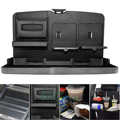 Car Back Seat Holder Desk Dining Table Drink Food Meal Cup Tray Holder Stand AU