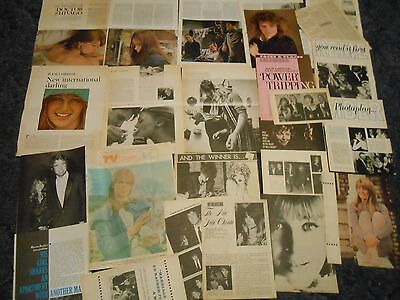 Julie Christie    lot of clippings #Y85