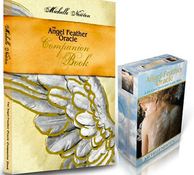 *New Angel Feather Oracle Cards & Companion Book by Michelle Newton, RARE
