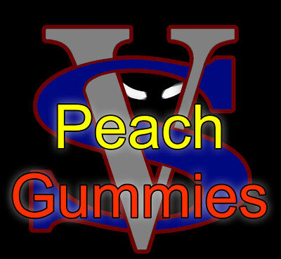 120ml liquid Peach Gummies gummy Candy 120 ml FREE SHIPPING Chubby bottle