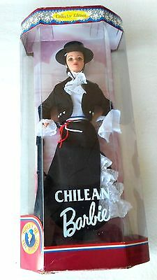 Dolls Of The World Chilean Barbie (#18559) 1997 Collector Edition (Nib)