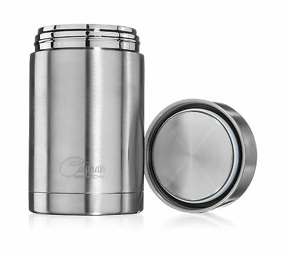 Cayman Kitchen Insulated Stainless Steel Thermos Food Jar 16 oz.
