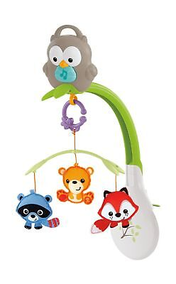 Fisher-Price Woodland Friends 3-in-1 Musical Mobile Red