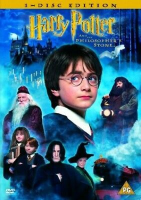 Harry Potter and the Philosopher's Stone [2001] [DVD] - DVD  48VG The Cheap Fast