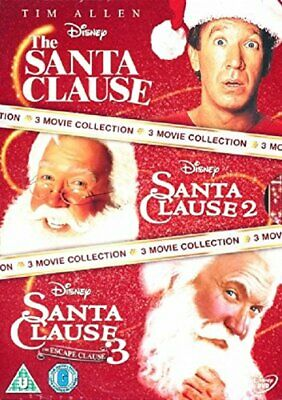 The Santa Clause Movie Collection [DVD] - DVD  4QVG The Cheap Fast Free Post