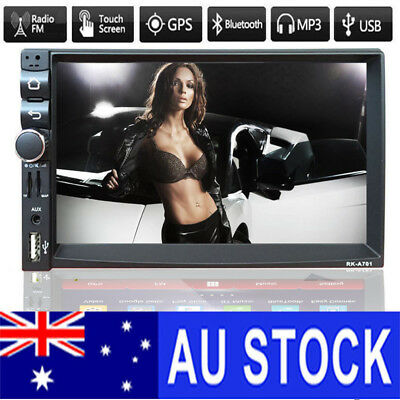 "7"" Double 2din CAR MP3 MP5 Player Radio gps Bluetooth GPS Quad Core Android 4.4"