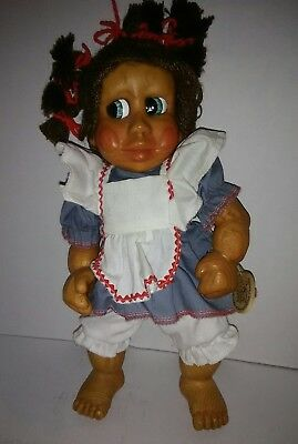 Naber Baby Wooden Handmade Doll ,, Tina Baby # 260,,,  1994  made in USA