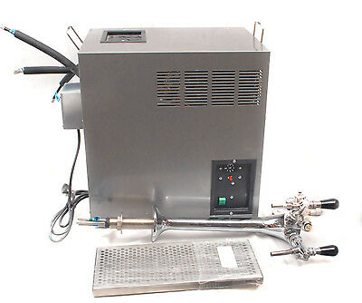 Niagara IN-120-WG Cold Ambient Sparkling Undercounter Water Chiller w/Tap & Tray