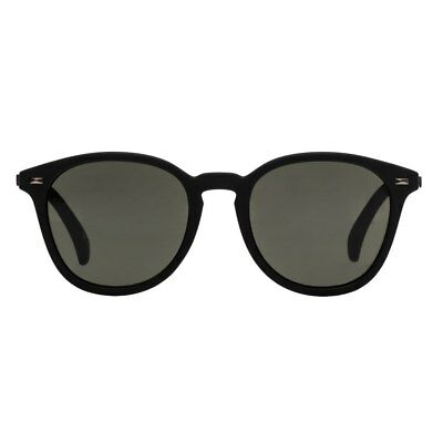 Le Specs Bandwagon Unisex Sunglasses - Black Rubber