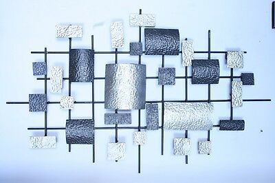 Luxury Metal Wall Decor / Art - Abstract Irregular Rectangle Pattern - On Sale