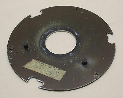 """Process camera lensboard diameter 7"""" with  2"""" hole"""