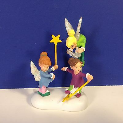 Dept 56 North Pole Village DRESSING UP WITH TINK w/box NEW! Combine Shipping!
