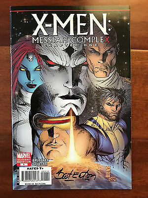 X-Men Messiah Complex #1 (2007) Marvel Comics Variant Signed by Eaton! Wolverine