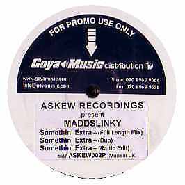 Maddslinky - Somethin' Extra - Askew Recordings 2 - 2005 #158654