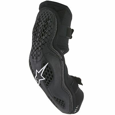 Alpinestars Sequence Motocross / MX CE Approved Elbow Protectors In Black / Red