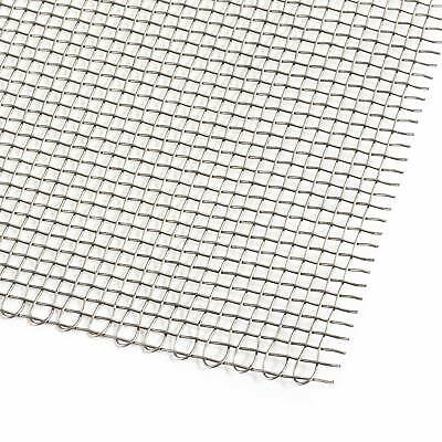 PitKing Products Woven Wire Stainless Steel Grille/Vent Mesh - Race/Rally