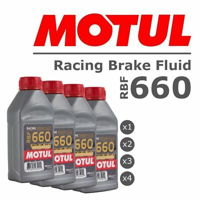 Motul RBF660 100% Synthetic Performance Race / Racing / Rally DOT 4 Brake Fluid