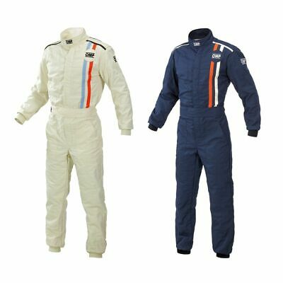 "OMP ""Classic"" Retro / Historic Racing / Race Suit - FIA Approved (IA01816F)"