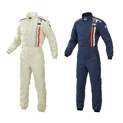 "OMP ""Classic"" Retro / Historic Racing / Race Suit - FIA Approved"