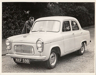 Ford Prefect Four Door Saloon Old Photograph.