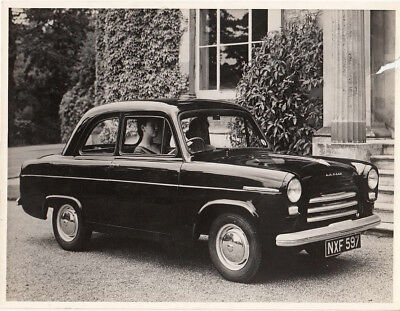 Ford Anglia Two Door Saloon Old Photograph.
