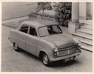FORD ?CONSUL? FOUR DOOR SALOON, CAR REG No.RHK 98, OLD PHOTOGRAPH.