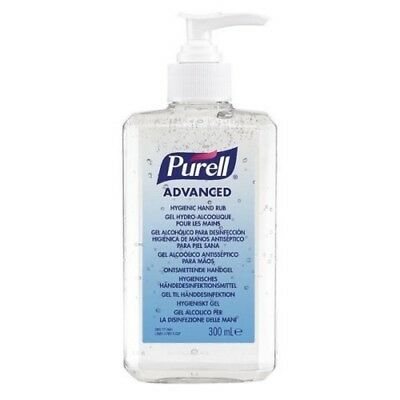 PURELL Advanced Hygienic Hand Rub Pump Bottle 300 ml Free Delivery Brand New