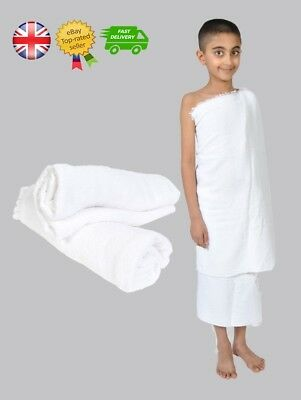 High Quality Two Pieces Children Kid's Towel Ehram Ahram Ihram For Hajj Umrah