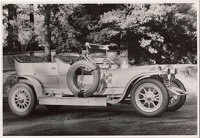 Rolls Royce Silver Ghost 40/50 H.p. Showing 1907 Model Photograph.