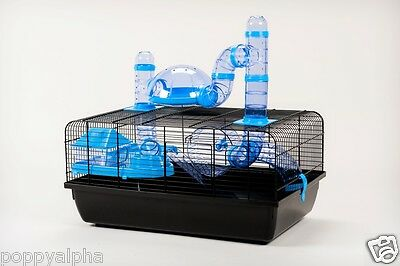 *NEW* The Landmark Small Animal Hamster Cage with Accessories RRP £49.99