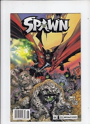 Spawn #126 VF- Newsstand edition McFarlane Capullo cover