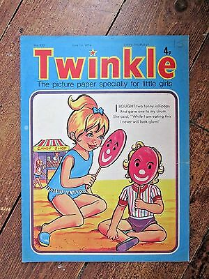 TWINKLE COMIC.  NO.332   JUNE 1st.  1974.